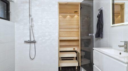 Kylpyhuoneen ja saunan remontti