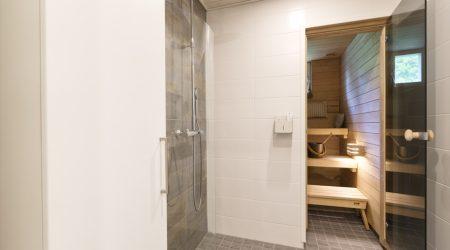 Saunan ja kylpyhuoneen remontti