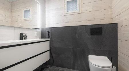 Seinä-WC ja kotelo